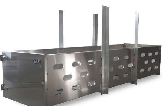 Flatbed dunnage racks iconic metalgear