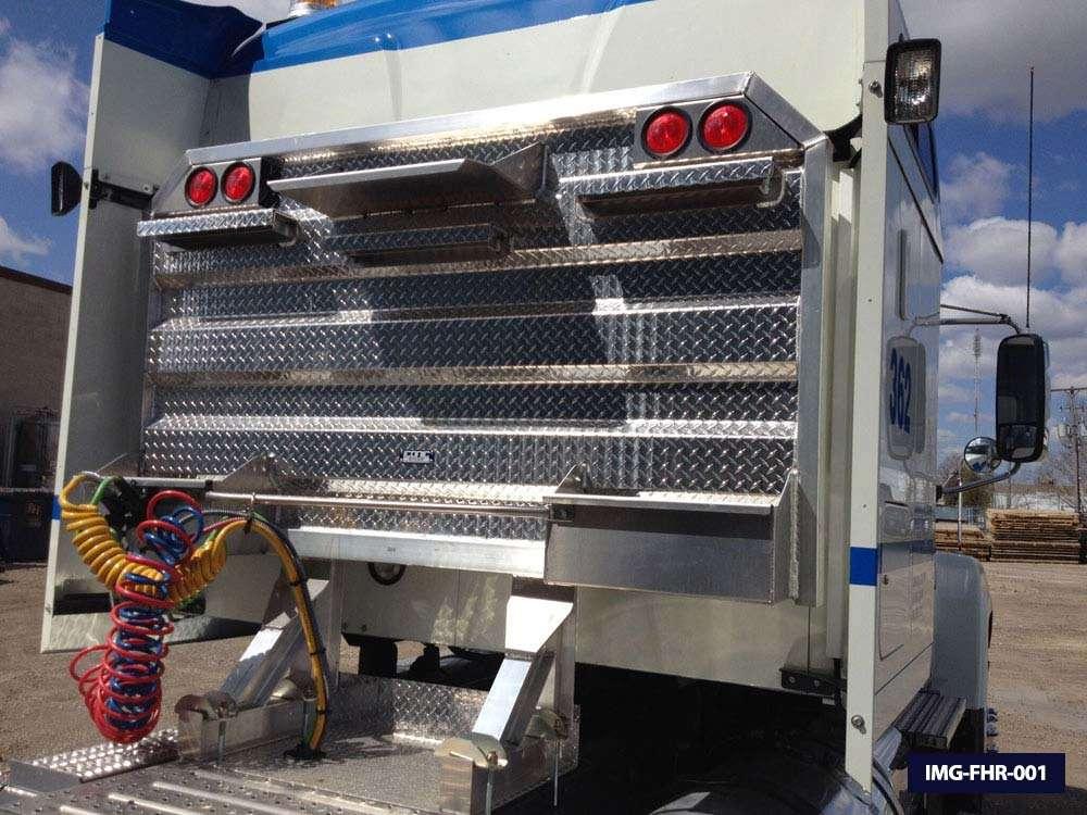 Flat Open Semi Truck Headache Racks Amp Cab Guards Iconic