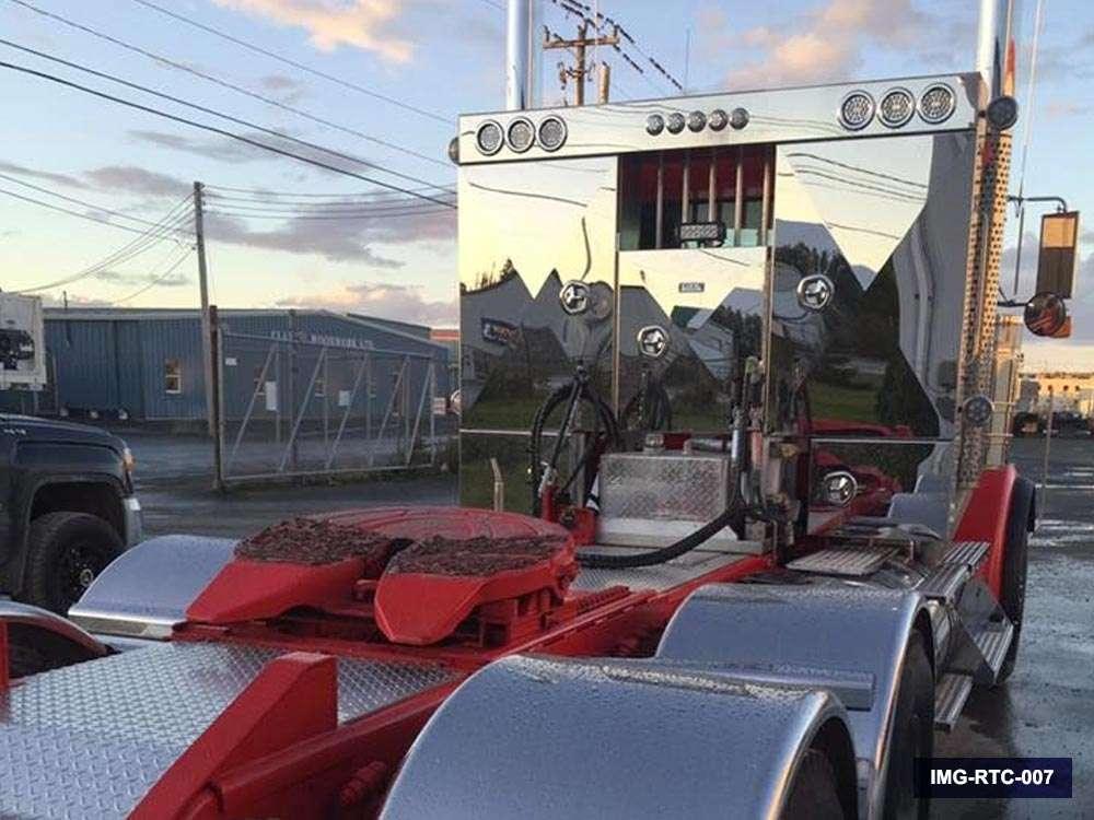 Semi Truck Hydraulic Tank and Headache Rack Combo | Iconic MetalGear