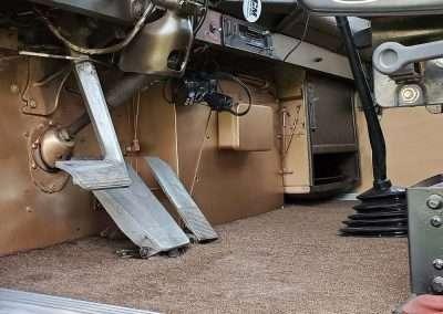 Reiselts Restored Truck Interior