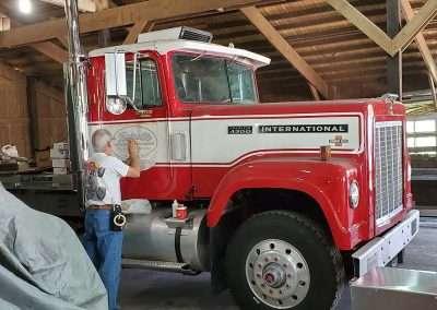 Reiselts Restored Truck in Progress