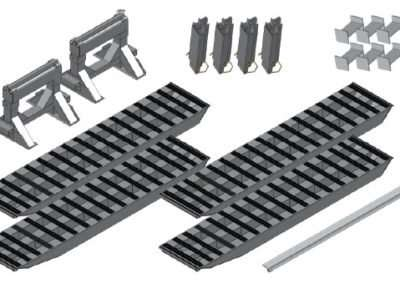 2-Bunk Load Leveller/Ramp Kit