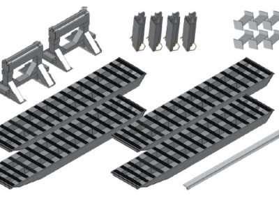 2-Bunk Load Leveller/Ramp Kit
