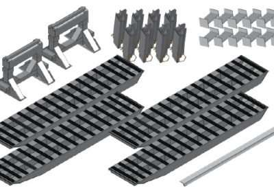 4-Bunk Load Leveller/Ramp Kit