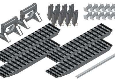4-Bunk Load Leveller/Ramp Kit