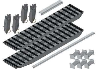 2-Bunk Load Leveller/96-Inch Ramp Kit