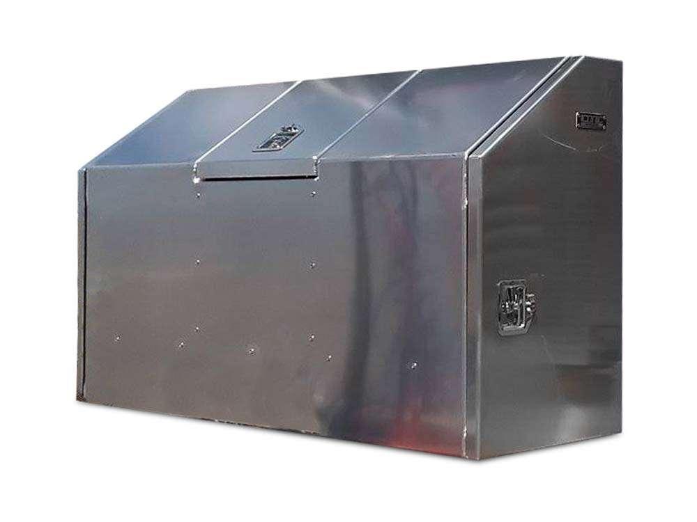 Day cab storage box for semi trucks