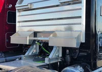 Flat Open Semi Truck Headache Racks