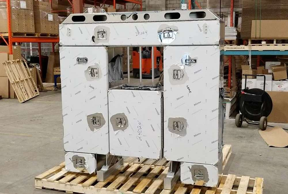 PRODUCT TOUR: Twin Custom Enclosed Headache Racks With Stainless Steel Doors
