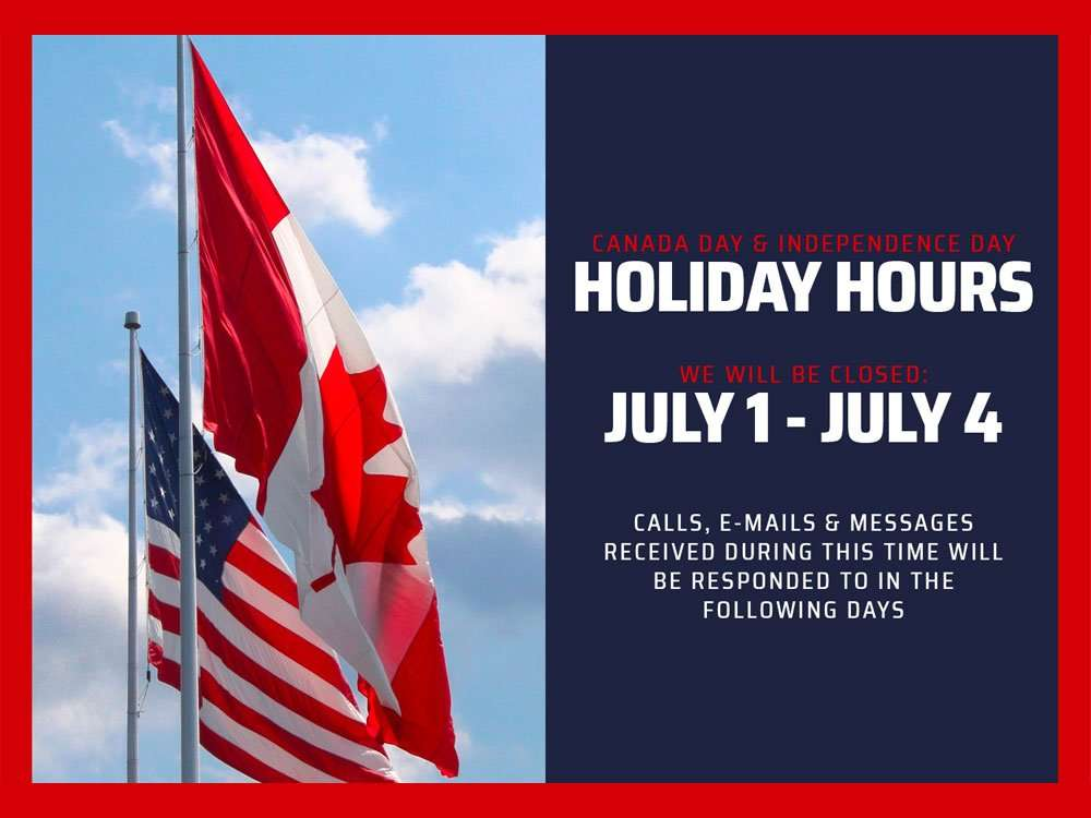 MetalGear Holiday Hours
