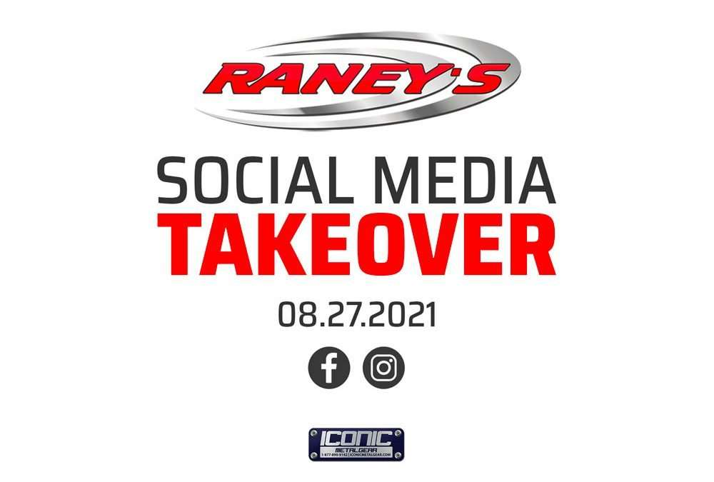 Raney's Social Media Takeover, and an Announcement